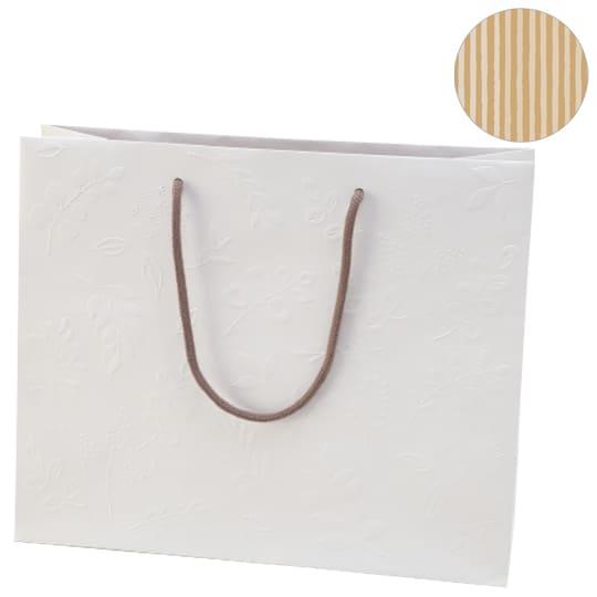 【手提げバッグ】<br /> HB グリーナリーホワイト L