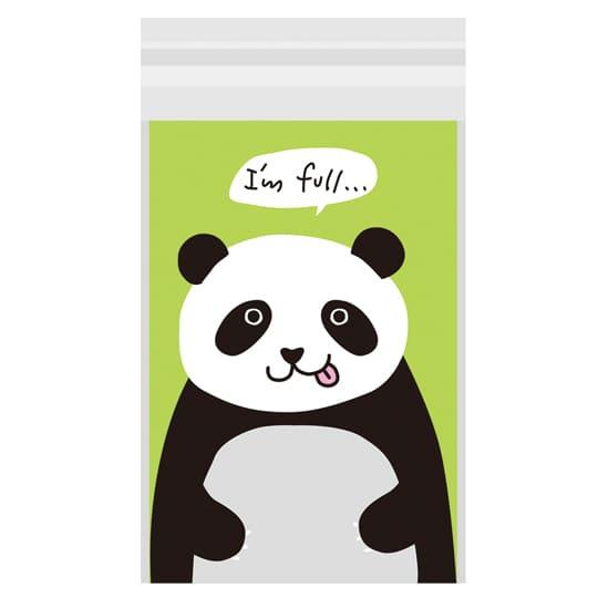【ビニールバッグ】<br /> VBおなかいっぱい パンダ