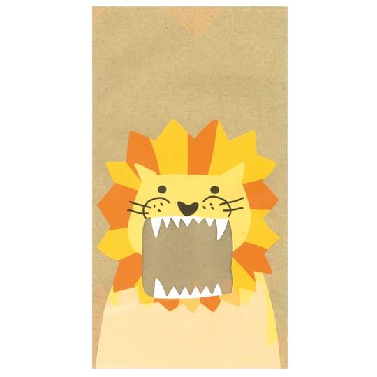 【ラミバッグ】<br /> PBお口いっぱい ライオン