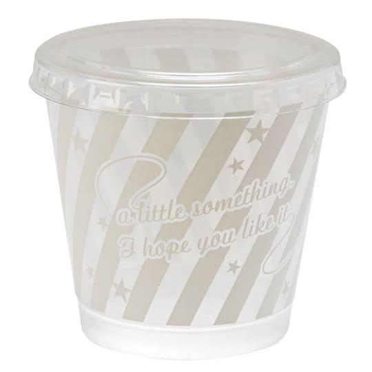 【クリアデザートカップ】<br /> CCストライプ