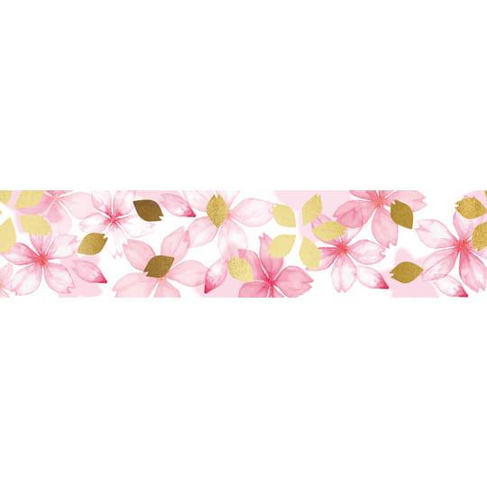 【マスキングテープ】<br /> 桜の花 15㎜