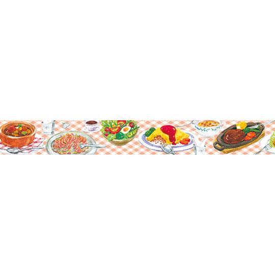 【マスキングテープ】<br /> 洋食屋さん 15㎜