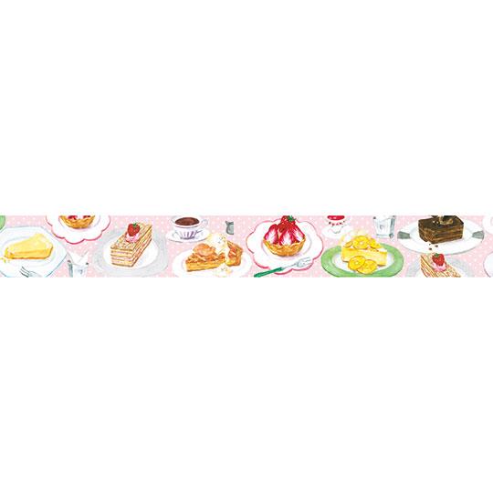 【マスキングテープ】<br /> ケーキ屋さん 15㎜