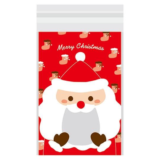 【ビニールバッグ】<br /> VB お口いっぱい サンタ