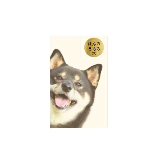 【ポチ袋】ポチ袋S ひょっこり黒柴犬