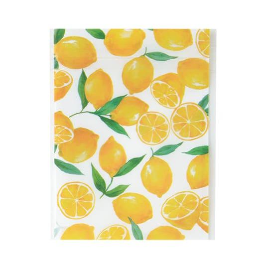 【ジッパーバッグ】<br /> ジップ グリタリングレモン