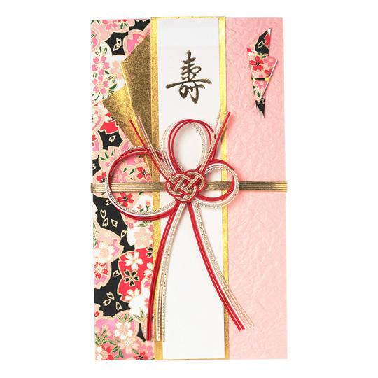 【祝儀袋】<br /> 桜華 桃