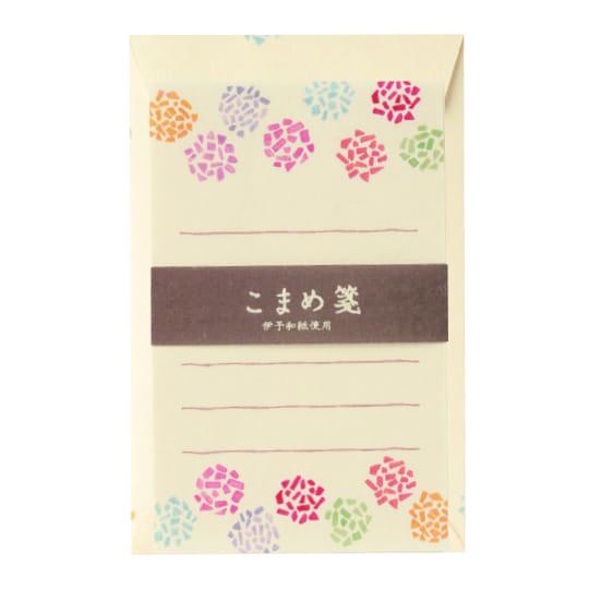 【ミニレターセット】<br /> こまめ箋 菊