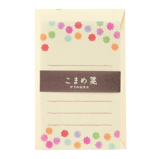 【ミニレターセット】<br /> こまめ箋 こんぺいとう