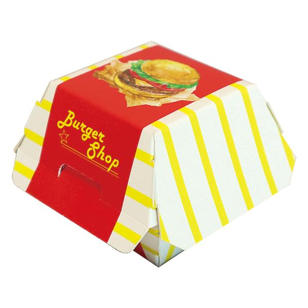 【ミニチュア BOX】<br /> バーガー2