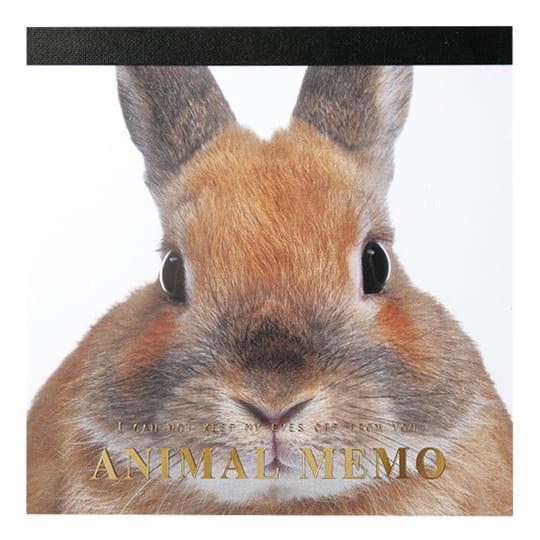 【メモ】<br /> アニマルメモ ウサギ
