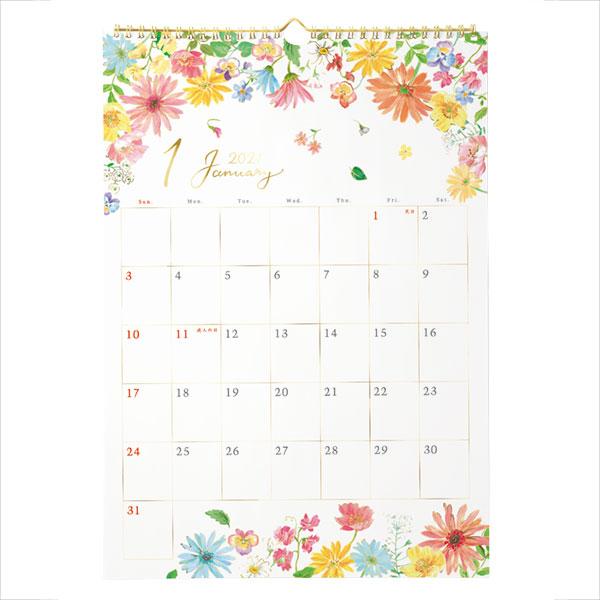 【2021カレンダー】A3リング ブルーム
