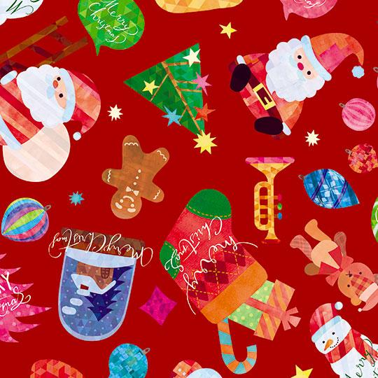 【包装紙】クリスマストイズ レギュラー