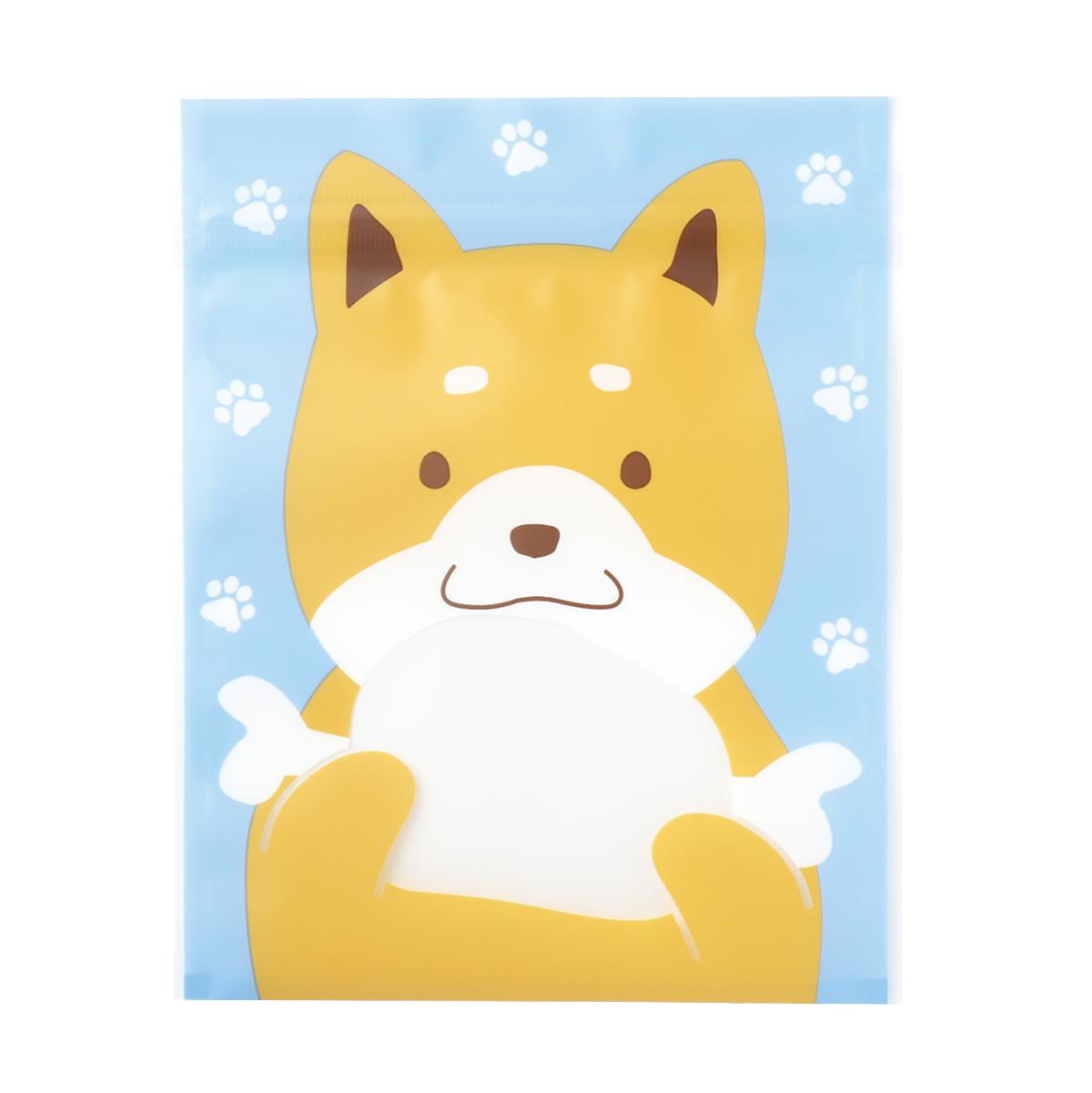 【ジッパーバッグ】ジップBAG シバイヌ