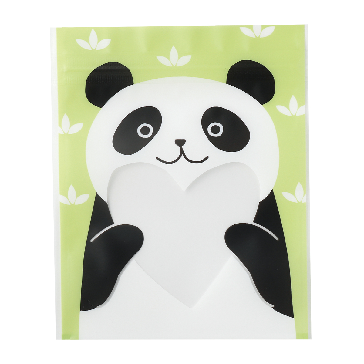 【ジッパーバッグ】ジップBAG パンダ
