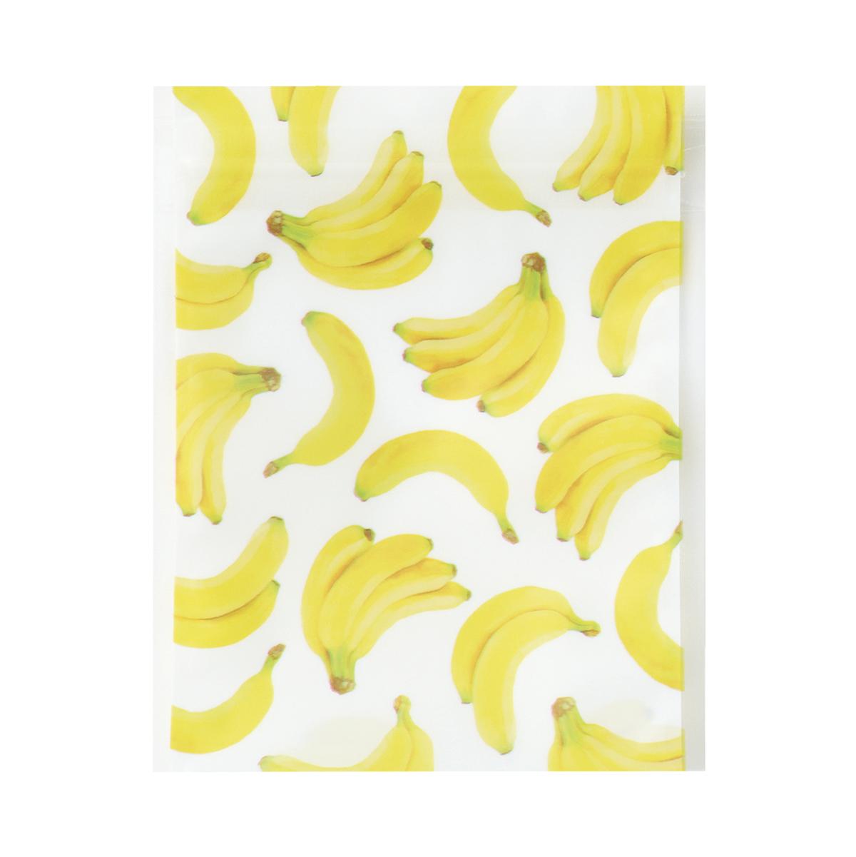 【ジップバッグ】ジップBAG バナナ