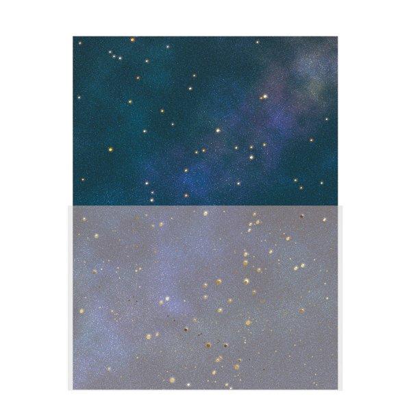 レター<br /> 夜空と星